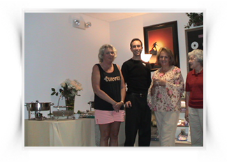 Dinner Party With Hypnosis Schools Students